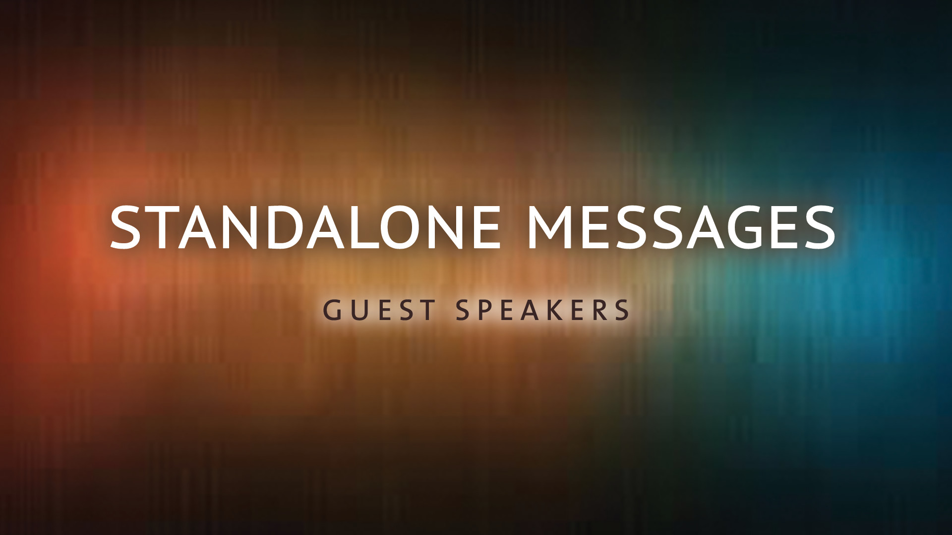 Standalone Messages