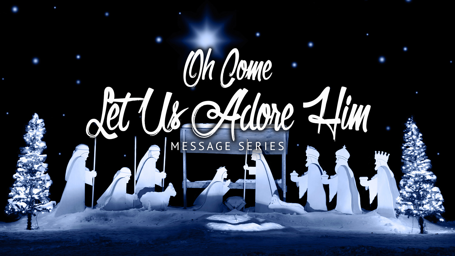 Oh Come, Let Us Adore Him
